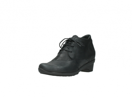 wolky chaussures a lacets 07653 montana 10210 cuir anthrancite_22