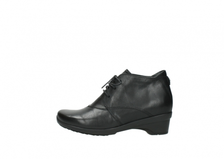 wolky lace up shoes 07653 montana 20000 black leather_1