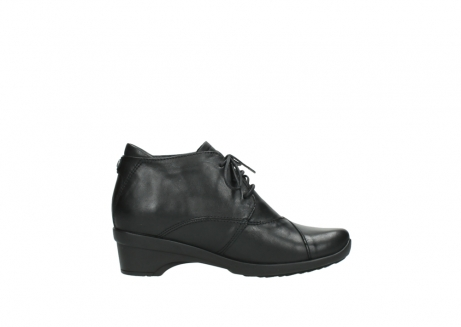 wolky lace up shoes 07653 montana 20000 black leather_13