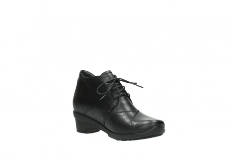 wolky lace up shoes 07653 montana 20000 black leather_16