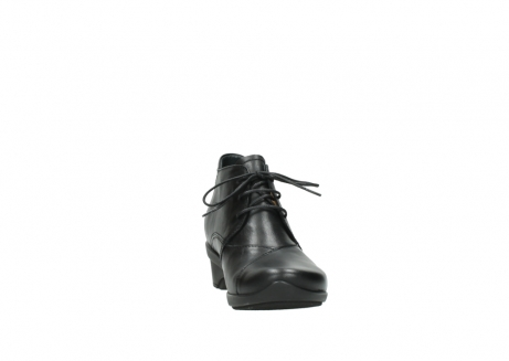 wolky lace up shoes 07653 montana 20000 black leather_18