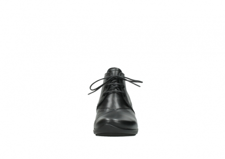 wolky lace up shoes 07653 montana 20000 black leather_19