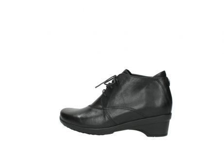 wolky lace up shoes 07653 montana 20000 black leather_2