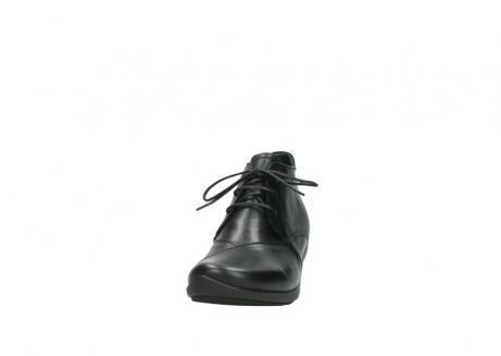wolky lace up shoes 07653 montana 20000 black leather_20