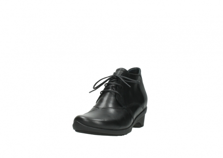 wolky lace up shoes 07653 montana 20000 black leather_21