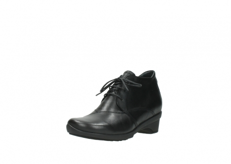 wolky lace up shoes 07653 montana 20000 black leather_22