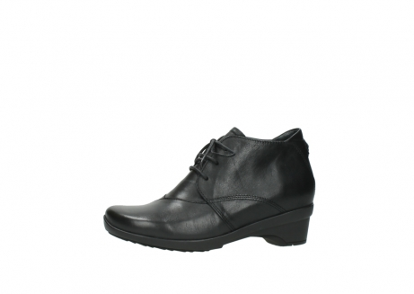 wolky lace up shoes 07653 montana 20000 black leather_24