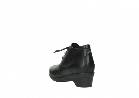 wolky lace up shoes 07653 montana 20000 black leather_5