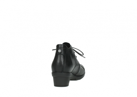 wolky lace up shoes 07653 montana 20000 black leather_8