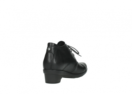 wolky lace up shoes 07653 montana 20000 black leather_9