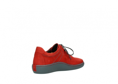 wolky lace up shoes 08125 artemis 50500 red oiled nubuck_10