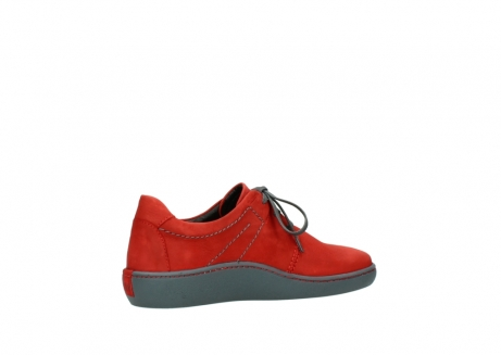 wolky lace up shoes 08125 artemis 50500 red oiled nubuck_11