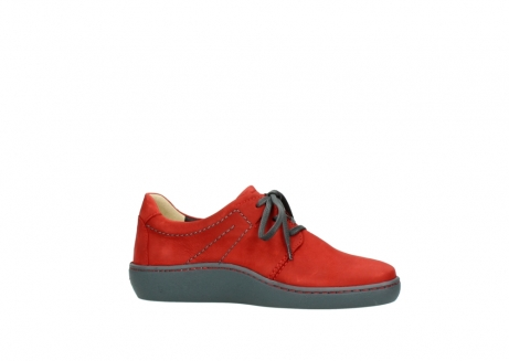 wolky lace up shoes 08125 artemis 50500 red oiled nubuck_14
