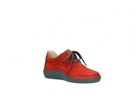 wolky lace up shoes 08125 artemis 50500 red oiled nubuck_16