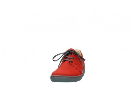 wolky lace up shoes 08125 artemis 50500 red oiled nubuck_20