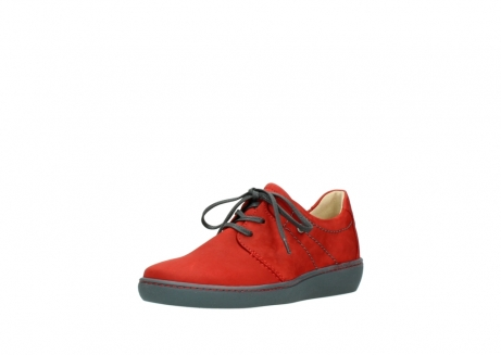 wolky lace up shoes 08125 artemis 50500 red oiled nubuck_22