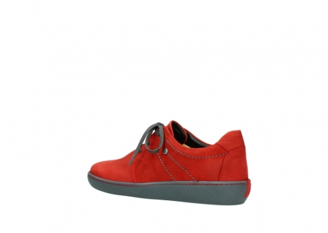 wolky lace up shoes 08125 artemis 50500 red oiled nubuck_3