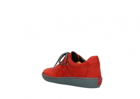 wolky lace up shoes 08125 artemis 50500 red oiled nubuck_4