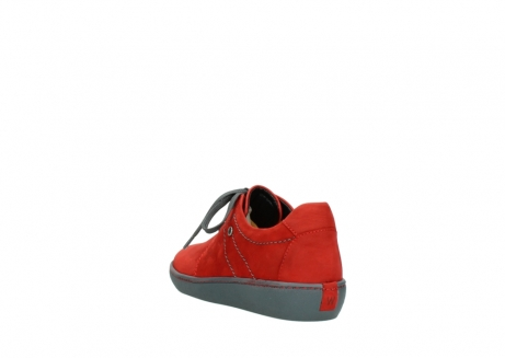 wolky lace up shoes 08125 artemis 50500 red oiled nubuck_5