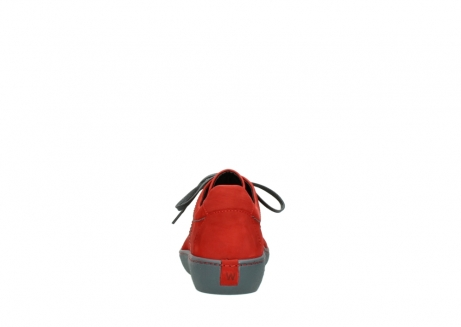 wolky lace up shoes 08125 artemis 50500 red oiled nubuck_7