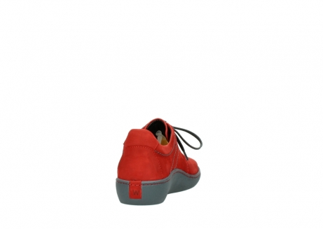 wolky lace up shoes 08125 artemis 50500 red oiled nubuck_8