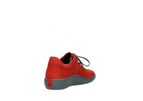 wolky lace up shoes 08125 artemis 50500 red oiled nubuck_9