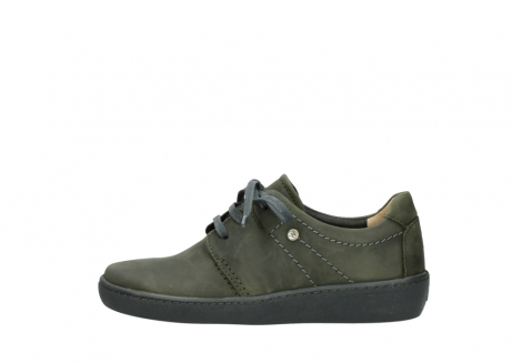 wolky chaussures a lacets 08125 artemis 50730 cuir vert_1