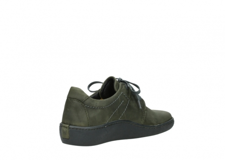 wolky lace up shoes 08125 artemis 50730 forest green oiled leather_10
