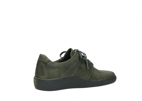 wolky chaussures a lacets 08125 artemis 50730 cuir vert_11