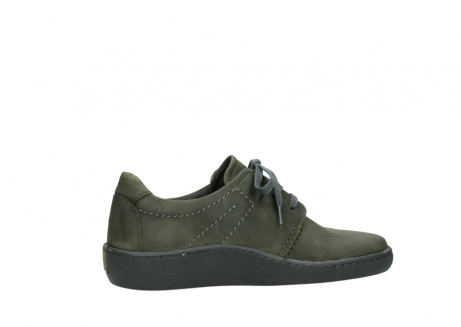 wolky lace up shoes 08125 artemis 50730 forest green oiled leather_12
