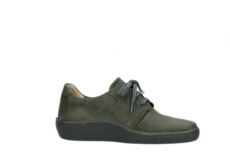 wolky lace up shoes 08125 artemis 50730 forest green oiled leather_14