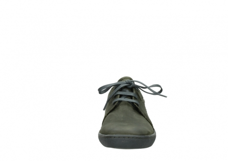 wolky lace up shoes 08125 artemis 50730 forest green oiled leather_19