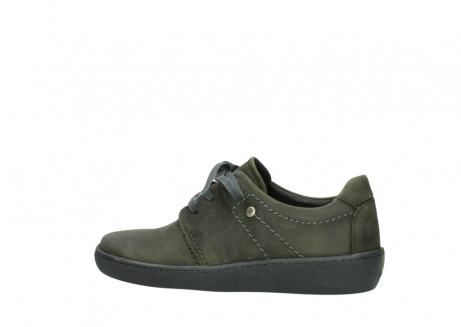 wolky lace up shoes 08125 artemis 50730 forest green oiled leather_2