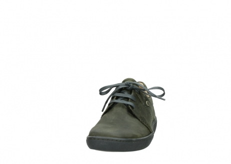 wolky chaussures a lacets 08125 artemis 50730 cuir vert_20