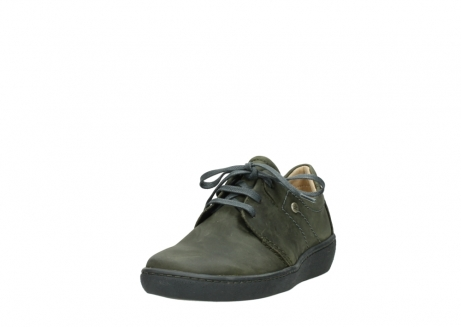 wolky lace up shoes 08125 artemis 50730 forest green oiled leather_21