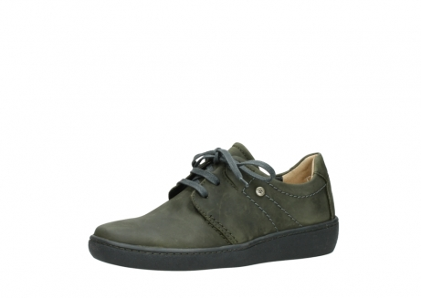 wolky lace up shoes 08125 artemis 50730 forest green oiled leather_23
