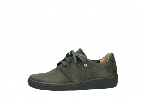 wolky lace up shoes 08125 artemis 50730 forest green oiled leather_24