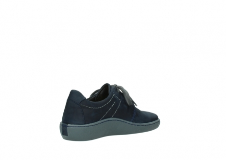 wolky lace up shoes 08125 artemis 50800 blue oiled nubuck_10