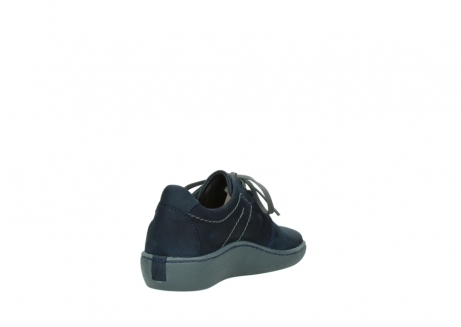 wolky lace up shoes 08125 artemis 50800 blue oiled nubuck_9
