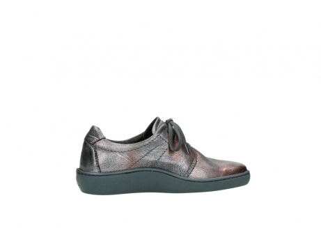 wolky lace up shoes 08125 artemis 90210 anthracite metallic leather_12