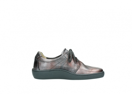 wolky lace up shoes 08125 artemis 90210 anthracite metallic leather_13