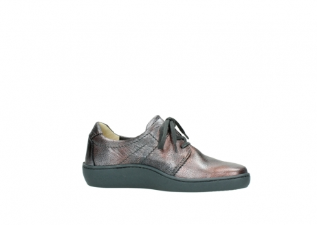 wolky lace up shoes 08125 artemis 90210 anthracite metallic leather_14