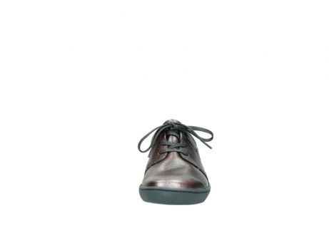 wolky lace up shoes 08125 artemis 90210 anthracite metallic leather_19
