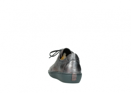 wolky lace up shoes 08125 artemis 90210 anthracite metallic leather_6