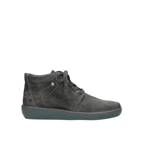 wolky lace up shoes 08126 babylon 40210 anthracite suede