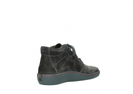 wolky lace up shoes 08126 babylon 40210 anthracite suede_10