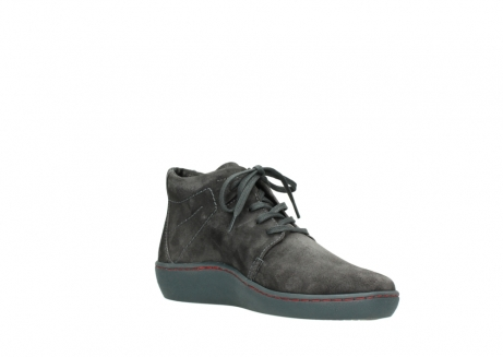 wolky lace up shoes 08126 babylon 40210 anthracite suede_16
