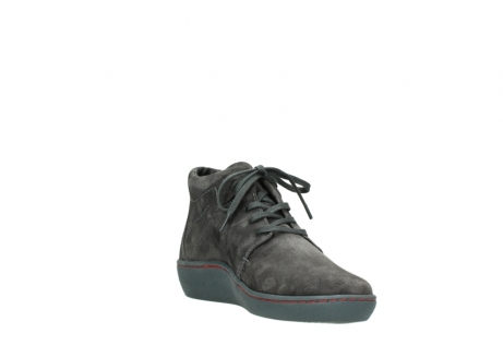 wolky lace up shoes 08126 babylon 40210 anthracite suede_17
