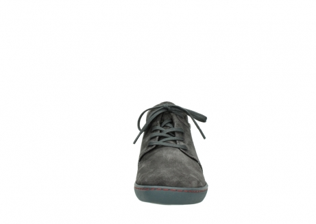 wolky lace up shoes 08126 babylon 40210 anthracite suede_19