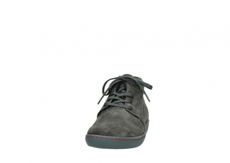 wolky lace up shoes 08126 babylon 40210 anthracite suede_20